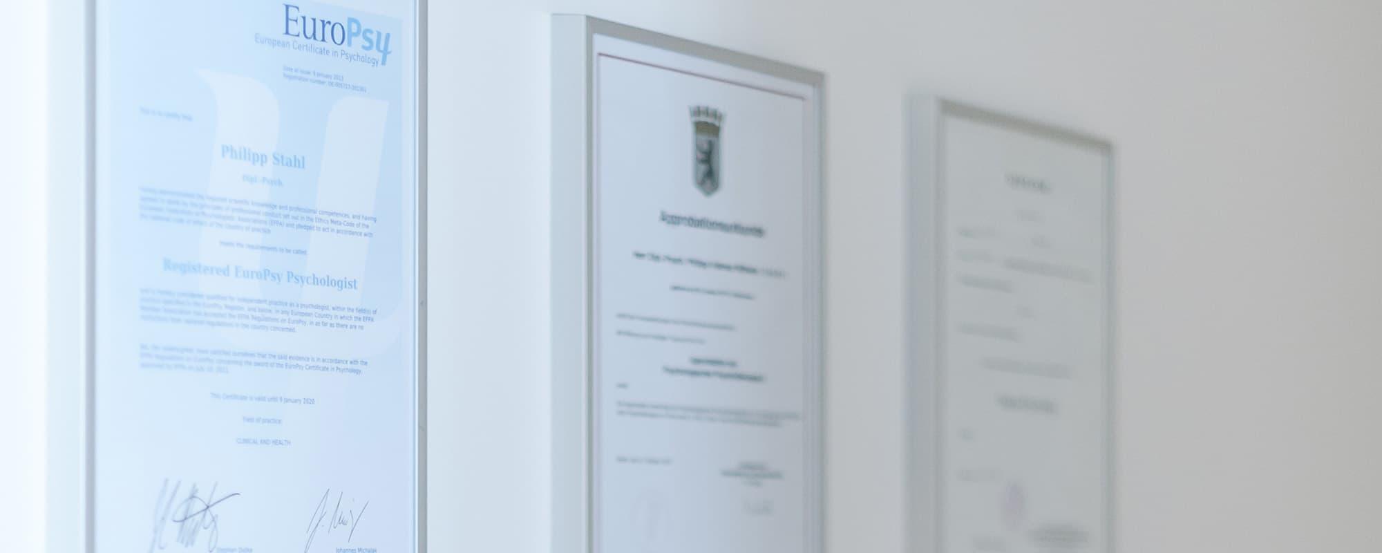 Life Coaching Berlin Zertifikate